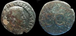 TIBERIUS AE As