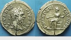 SEPTIMIUS SEVERUS Denarius RIC 218, Conc...