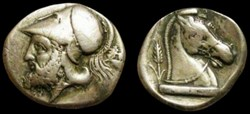 ANONYMOUS ROMAN REPUBLIC AR Didrachm