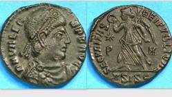 VALENS AE3, RIC 15b,xvii, Victory