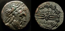 TRALLES, LYDIA CITY COINAGE AE18