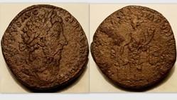 MARCUS AURELIUS Sestertius, RIC 1154, An...
