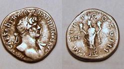 HADRIAN Denarius, RIC 115, Aeternitas