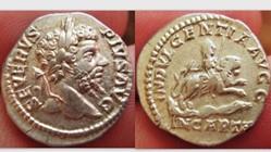 Roman Empire, SEPTIMIUS SEVERUS Denarius...