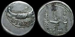 MARCUS ANTONIUS AR Denarius  LEG III