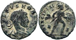 CRISPUS AE3, RIC VII 129, Mars