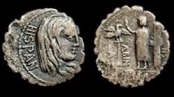 A. POSTUMIUS A.F. SP.N. ALBINUS ROMAN RE...