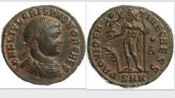 CRISPUS AE3, RIC VII 32, Jupiter