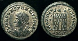 CONSTANTIUS II Silvered AE3