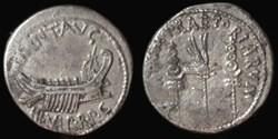 MARCUS ANTONIUS AR Denarius  CHORTIVM PR...
