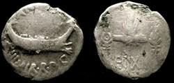 MARCUS ANTONIUS AR Denarius  Leg XIX