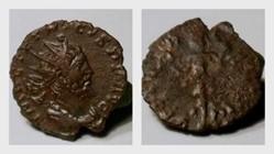 TETRICUS I Antoninianus RIC 141, Victory