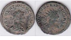 VABALATHUS Antoninianus RIC 381, Aurelia...