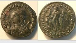 LICINIUS II AE3, RIC VII 29, Z, Jupiter