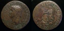 NERO CLAUDIUS DRUSUS AE Sestertius