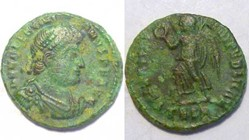 VALENTINIAN I AE3 RIC 18a, Victory
