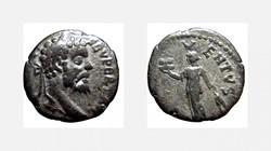SEPTIMIUS SEVERUS Denarius, RIC 347, BON...