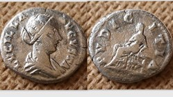 LUCILLA Denarius RIC 781, Pudicitia