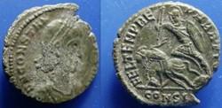 CONSTANTIUS II AE3 RIC VIII 118, Fallen ...