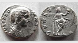 JULIA DOMNA Denarius RIC 536, Venus