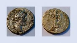 SEPTIMIUS SEVERUS Denarius, RIC 22, Vict...