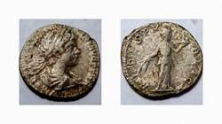CARACALLA Denarius, RIC 24, Fides
