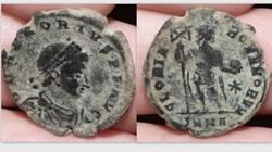 HONORIUS AE2 RIC ?, GLORIA ROMANORVM