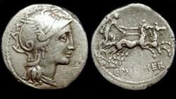 C.CLAUDIUS PULCHER ROMAN REPUBLIC; GENS ...