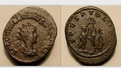 SALONINUS Antoninianus RIC V 36 var, Spe...