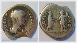 HADRIAN Denarius, RIC 225, Roma