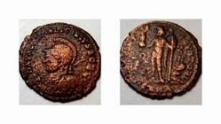 LICINIUS II AE3, RIC VII 36, Jupiter