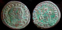 GALERIUS AE Follis