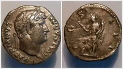 HADRIAN Denarius, RIC 169, Abundantia