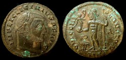 LICINIUS I AE3 Follis