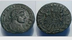 CONSTANTINE II AE3 Follis RIC VII 220, G...