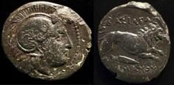 LYSIMACHUS KING OF THRACIA AE 20