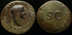 GERMANICUS AE As