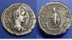 Caracalla AR Denarius Ric 179, Vota