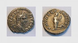 SEPTIMIUS SEVERUS Denarius, RIC 207, Afr...