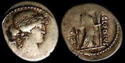 P CLODIUS MF TURRINUS ROMAN REPUBLIC; GE...
