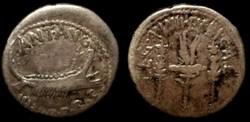 MARCUS ANTONIUS AR Denarius LEG XVIII LY...