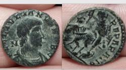 JULIAN II AE3 RIC 200, FELTEMP-REPARATIO