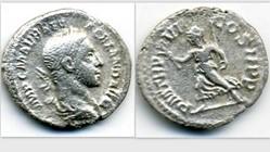 SEVERUS ALEXANDER Denarius, RIC 67, Pax
