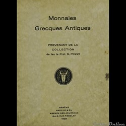 Liste - célèbres collections de Monnaies grecques