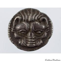 monnaie antique grecque rhegion litra