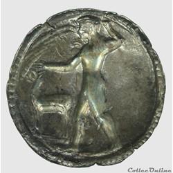 monnaie antique grecque caulonia statere