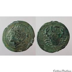 Monnaies en Bronze de Sicile et Grande Grèce