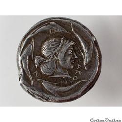 monnaie antique grecque syracuse tetradrachme