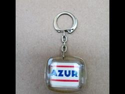 Porte-clé\pétrolier\Azur