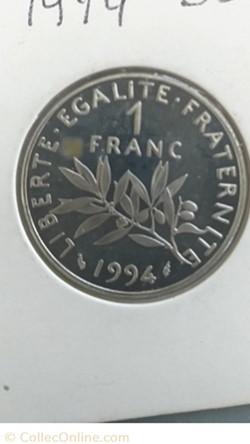 1 franc 1994